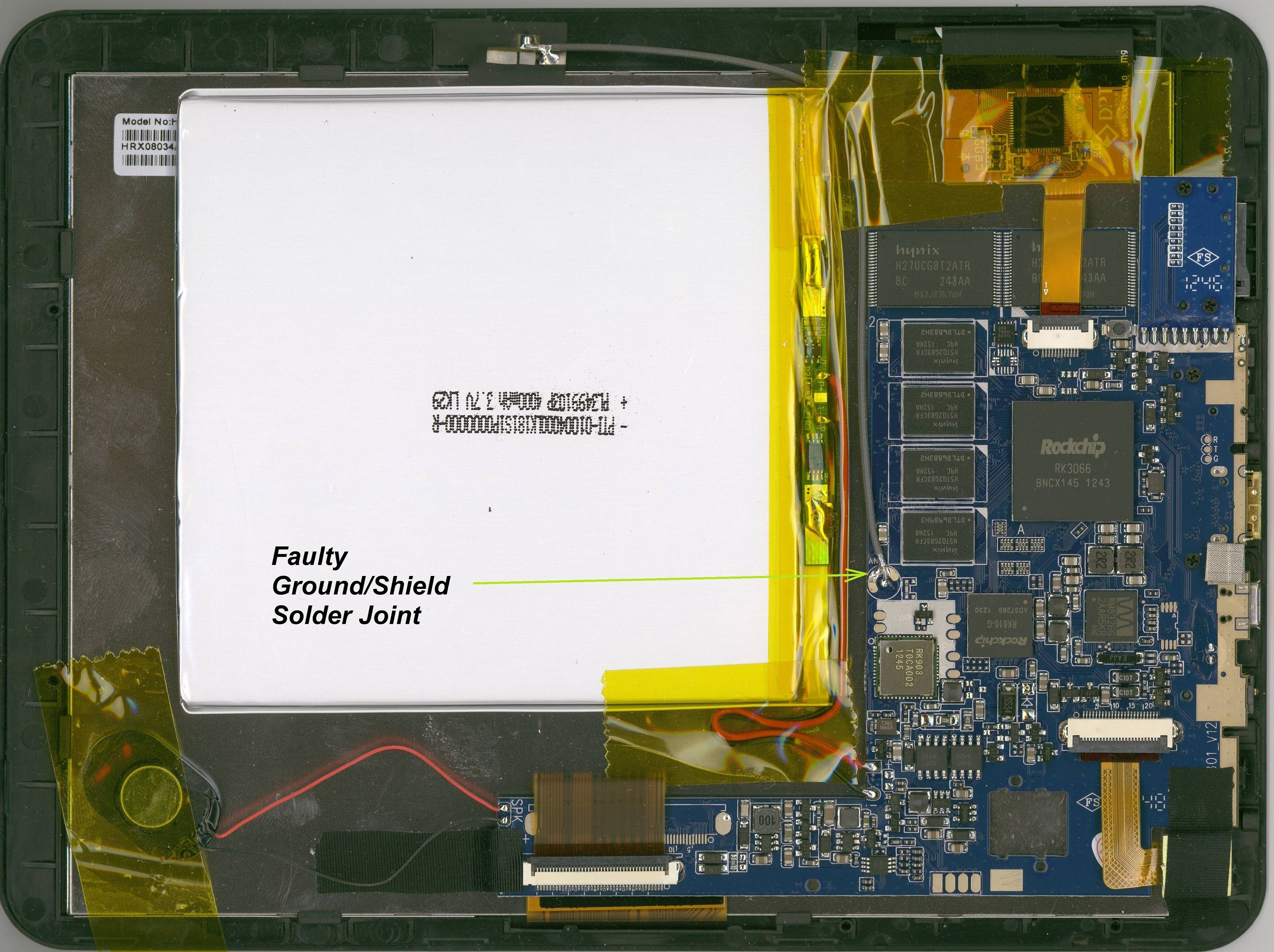 Momo8 IPS Internals & WiFi Fault | Android Tablet Forum