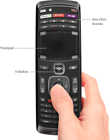 remote frontpng - Visio Costar